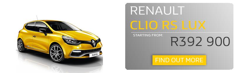 Clio RS LUX