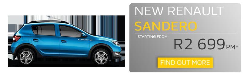 New Renault Sandero